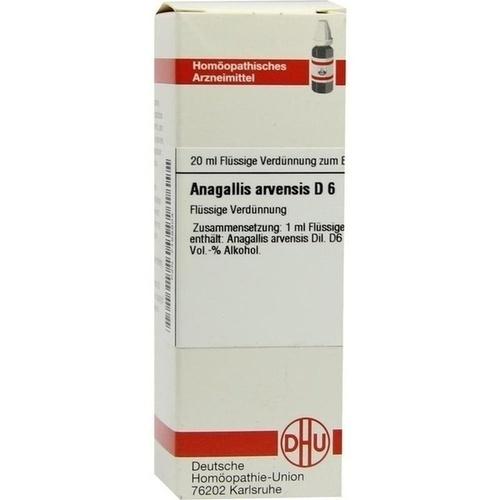 ANAGALLIS ARVENS D 6, 20 ML, Dhu-Arzneimittel GmbH & Co. KG