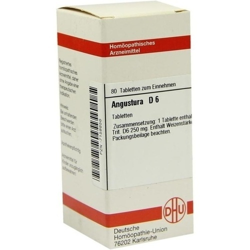 ANGUSTURA D 6, 80 ST, Dhu-Arzneimittel GmbH & Co. KG
