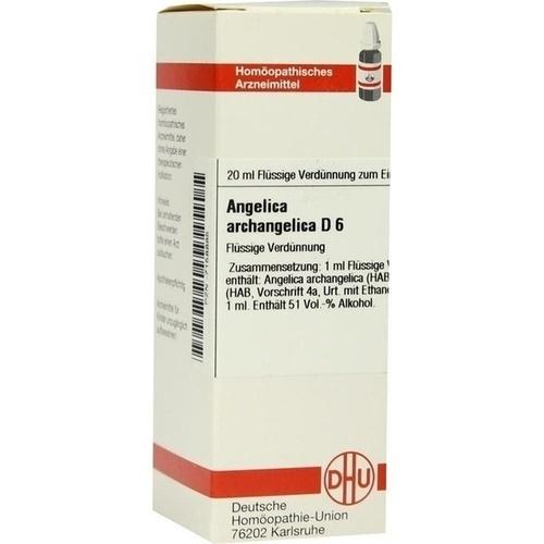ANGELICA ARCHANGELICA D 6, 20 ML, Dhu-Arzneimittel GmbH & Co. KG
