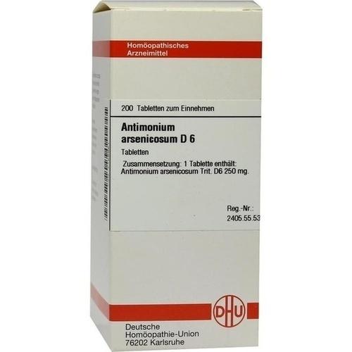 ANTIMONIUM ARSENIC D 6, 200 ST, Dhu-Arzneimittel GmbH & Co. KG