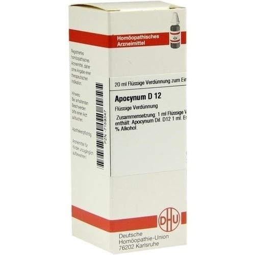 APOCYNUM D12, 20 ML, Dhu-Arzneimittel GmbH & Co. KG