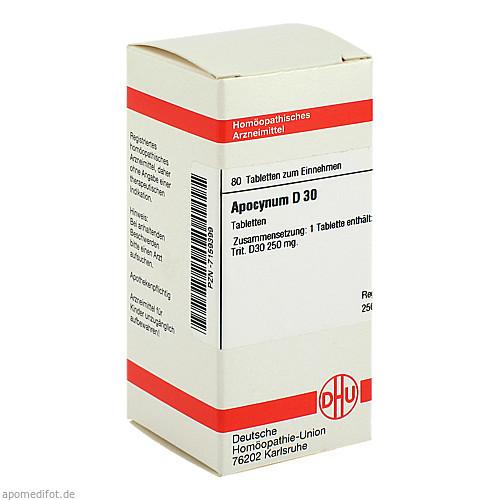 APOCYNUM D30, 80 ST, Dhu-Arzneimittel GmbH & Co. KG