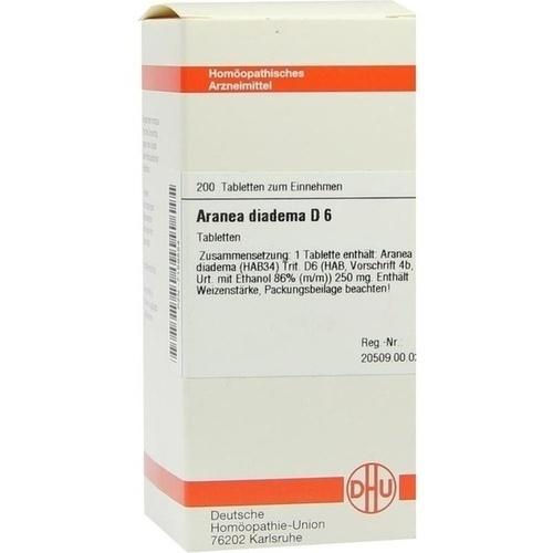 ARANEA DIADEMA D 6, 200 ST, Dhu-Arzneimittel GmbH & Co. KG