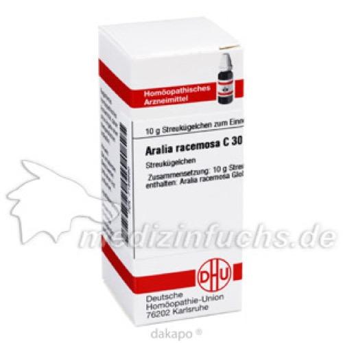 ARALIA RACEMOSA C30, 10 G, Dhu-Arzneimittel GmbH & Co. KG