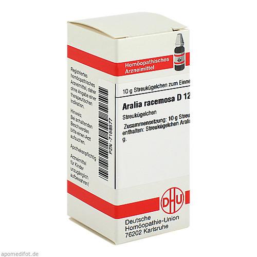 ARALIA RACEMOSA D12, 10 G, Dhu-Arzneimittel GmbH & Co. KG