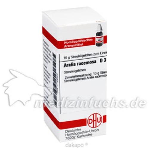 ARALIA RACEMOSA D 3, 10 G, Dhu-Arzneimittel GmbH & Co. KG