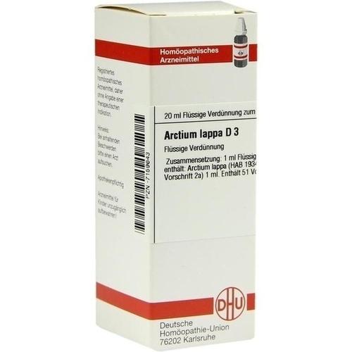 ARCTIUM LAPPA D 3, 20 ML, Dhu-Arzneimittel GmbH & Co. KG