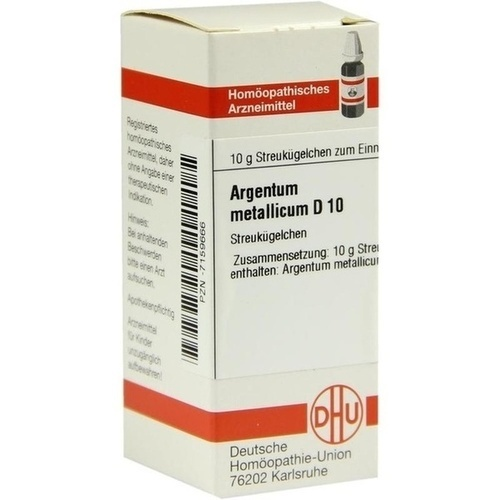 ARGENTUM MET D10, 10 G, Dhu-Arzneimittel GmbH & Co. KG