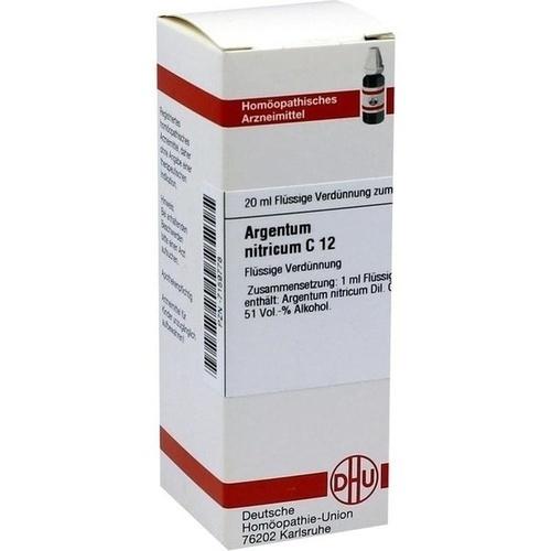 ARGENTUM NITRICUM C12, 20 ML, Dhu-Arzneimittel GmbH & Co. KG