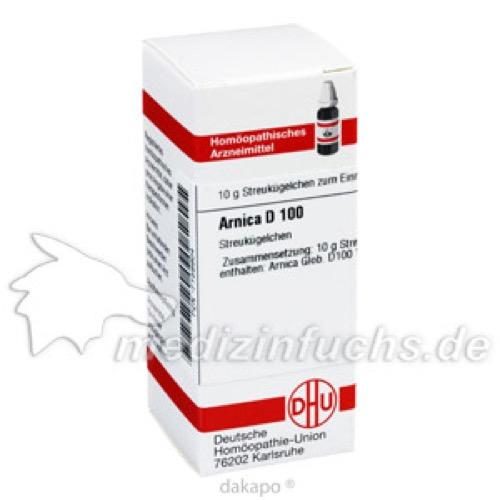 ARNICA D100, 10 G, Dhu-Arzneimittel GmbH & Co. KG