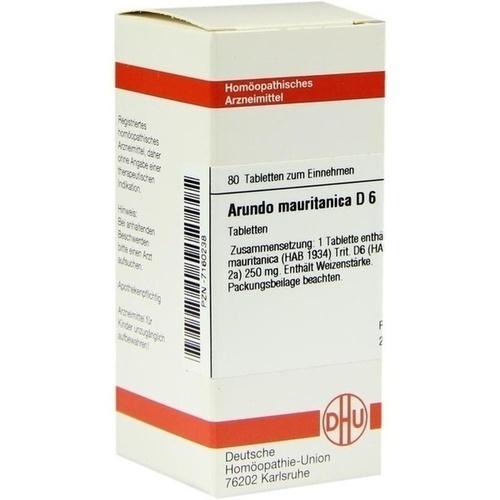 ARUNDO MAURITAN D 6, 80 ST, Dhu-Arzneimittel GmbH & Co. KG