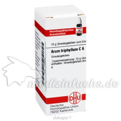 ARUM TRIPHYLLUM C 6, 10 G, Dhu-Arzneimittel GmbH & Co. KG