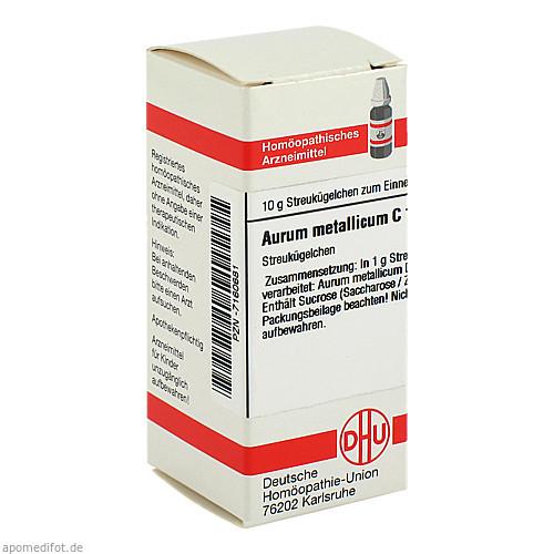 AURUM METALLICUM C12, 10 G, Dhu-Arzneimittel GmbH & Co. KG