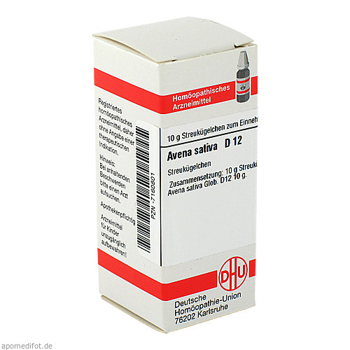 AVENA SATIVA D12, 10 G, Dhu-Arzneimittel GmbH & Co. KG