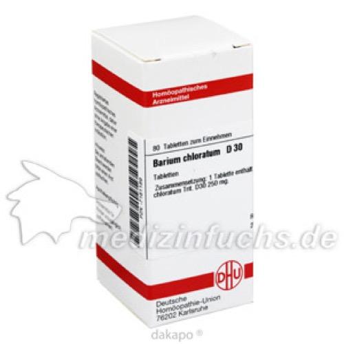 BARIUM CHLORATUM D30, 80 ST, Dhu-Arzneimittel GmbH & Co. KG