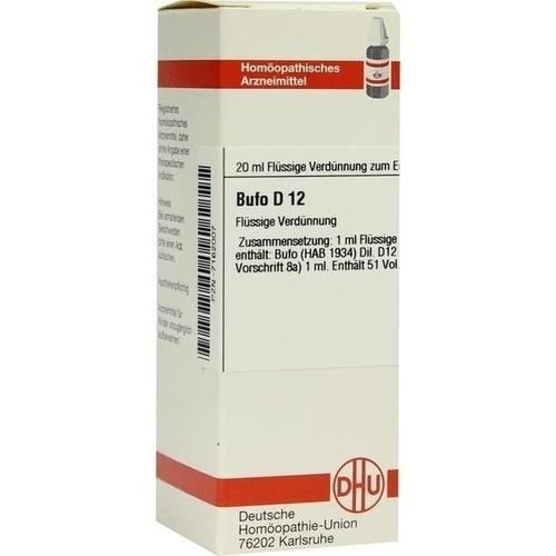 BUFO D12, 20 ML, Dhu-Arzneimittel GmbH & Co. KG