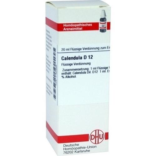 CALENDULA D12, 20 ML, Dhu-Arzneimittel GmbH & Co. KG