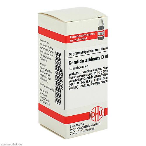 CANDIDA ALBICANS D30, 10 G, Dhu-Arzneimittel GmbH & Co. KG