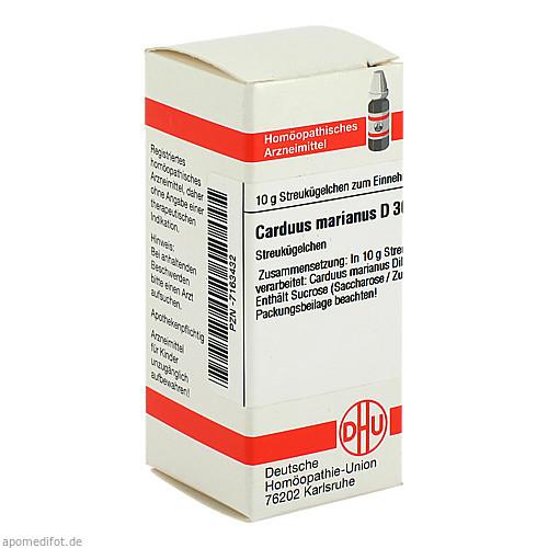 CARDUUS MARIANUS D30, 10 G, Dhu-Arzneimittel GmbH & Co. KG