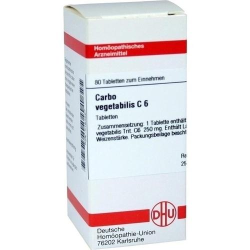 CARBO VEG C 6, 80 ST, Dhu-Arzneimittel GmbH & Co. KG