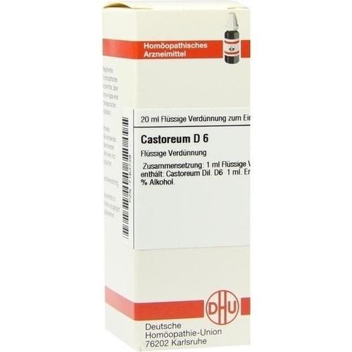 CASTOREUM D 6, 20 ML, Dhu-Arzneimittel GmbH & Co. KG