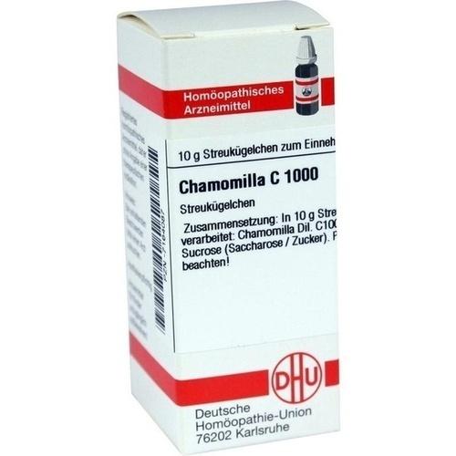 CHAMOMILLA C1000, 10 G, Dhu-Arzneimittel GmbH & Co. KG