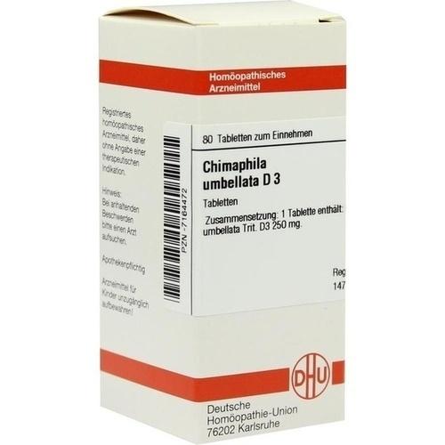 CHIMAPHILA UMB D 3, 80 ST, Dhu-Arzneimittel GmbH & Co. KG