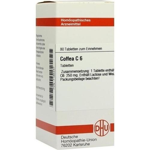 COFFEA C 6, 80 ST, Dhu-Arzneimittel GmbH & Co. KG