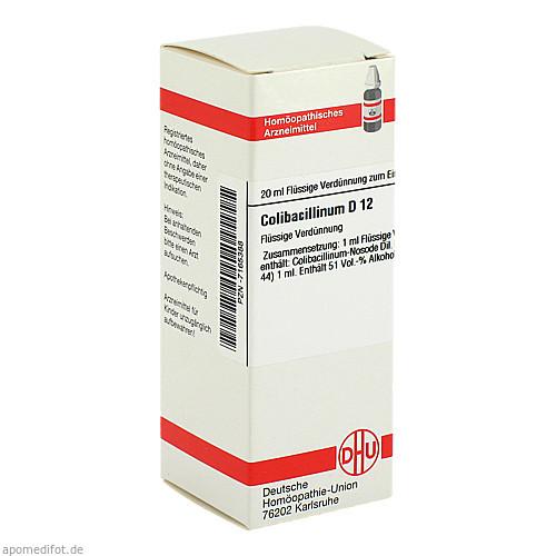 COLIBACILLINUM D 12 Dilution, 20 ML, DHU-Arzneimittel GmbH & Co. KG