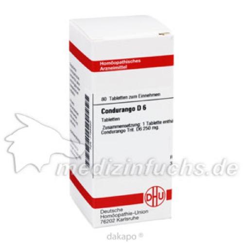 CONDURANGO D 6, 80 ST, Dhu-Arzneimittel GmbH & Co. KG
