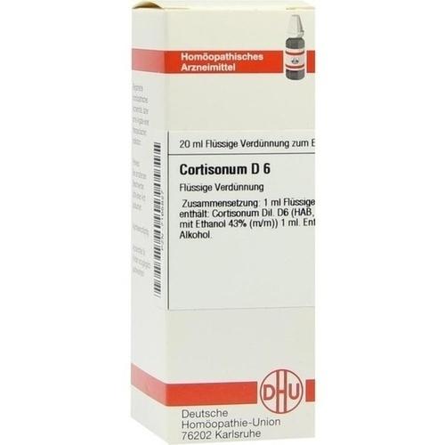 CORTISONUM D 6 Dilution, 20 ML, DHU-Arzneimittel GmbH & Co. KG