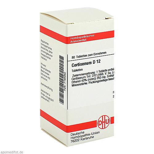 CORTISONUM D12, 80 ST, Dhu-Arzneimittel GmbH & Co. KG