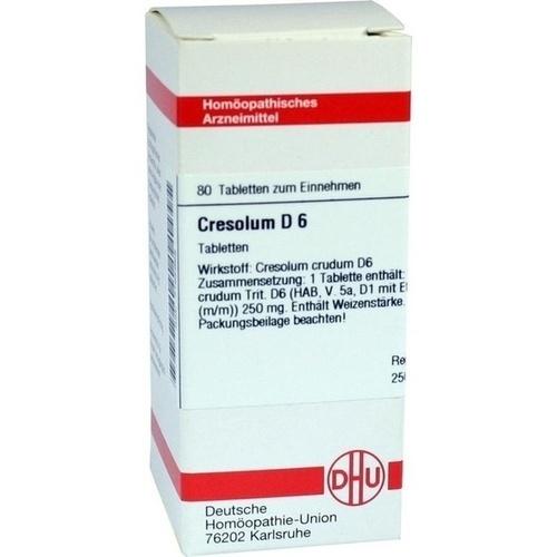CRESOLUM D 6, 80 ST, Dhu-Arzneimittel GmbH & Co. KG