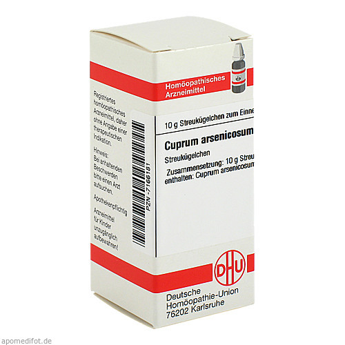 CUPRUM ARSENICOSUM C200, 10 G, Dhu-Arzneimittel GmbH & Co. KG