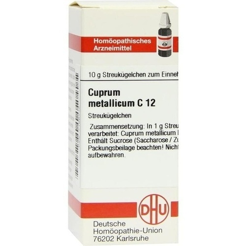 CUPRUM MET C12, 10 G, Dhu-Arzneimittel GmbH & Co. KG