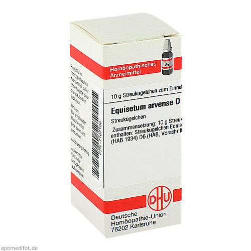 EQUISETUM ARVENSE D 6, 10 G, Dhu-Arzneimittel GmbH & Co. KG