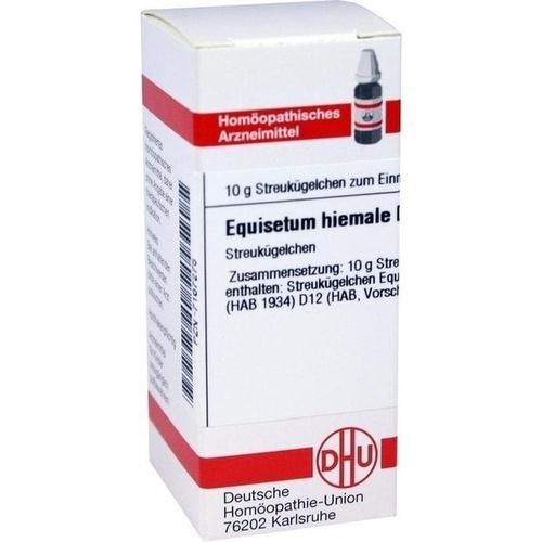 EQUISETUM HIEMALE D12, 10 G, Dhu-Arzneimittel GmbH & Co. KG