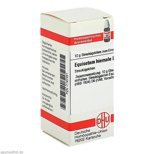 EQUISETUM HIEMALE D 6, 10 G, Dhu-Arzneimittel GmbH & Co. KG