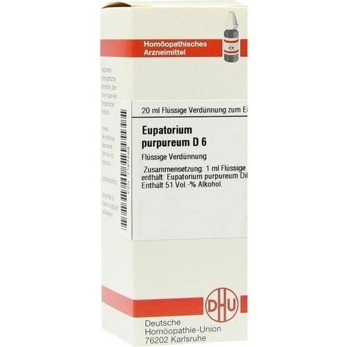 EUPATORIUM PURPUR D 6, 20 ML, Dhu-Arzneimittel GmbH & Co. KG
