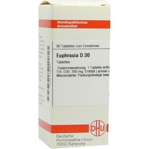 EUPHRASIA D30, 80 ST, Dhu-Arzneimittel GmbH & Co. KG