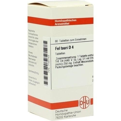 FEL TAURI D 4, 80 ST, Dhu-Arzneimittel GmbH & Co. KG