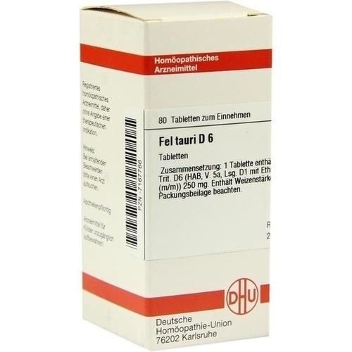FEL TAURI D 6, 80 ST, Dhu-Arzneimittel GmbH & Co. KG