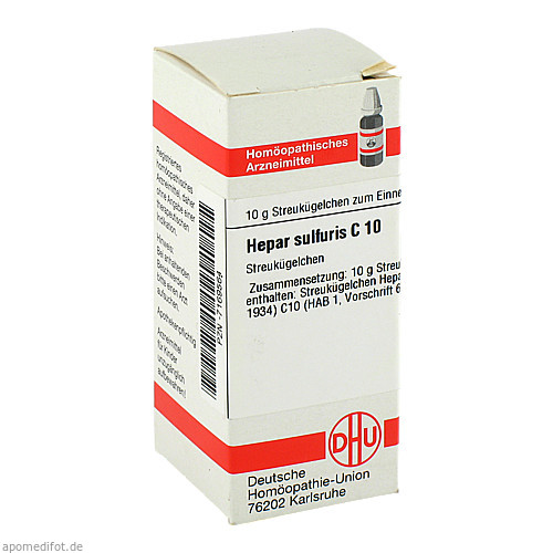 HEPAR SULFURIS C10, 10 G, Dhu-Arzneimittel GmbH & Co. KG