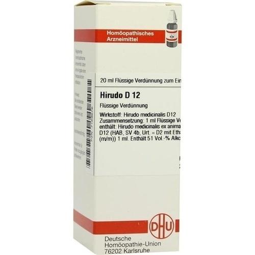 HIRUDO D12, 20 ML, Dhu-Arzneimittel GmbH & Co. KG