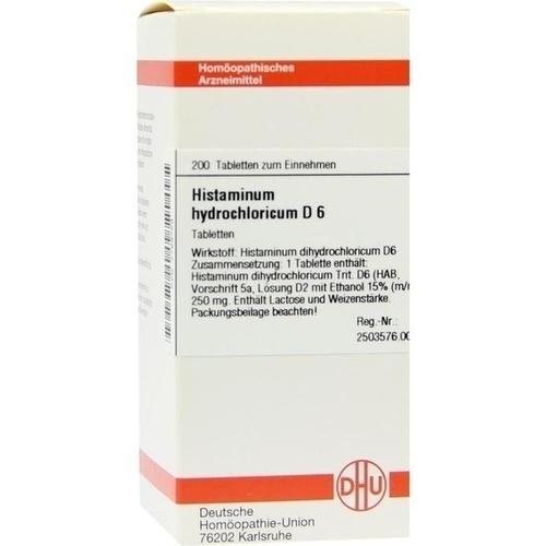 HISTAMINUM HYDROCHLOR D 6, 200 ST, Dhu-Arzneimittel GmbH & Co. KG