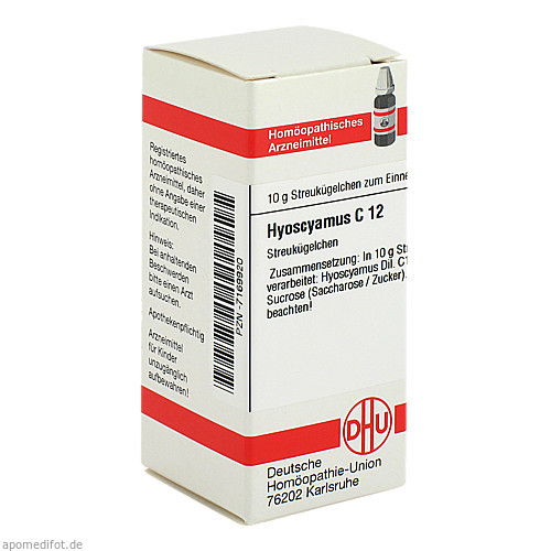HYOSCYAMUS C12, 10 G, Dhu-Arzneimittel GmbH & Co. KG