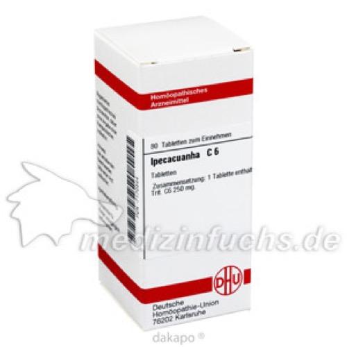 IPECACUANHA C 6, 80 ST, Dhu-Arzneimittel GmbH & Co. KG