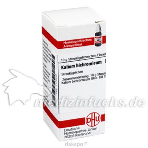 KALIUM BICHROMICUM D 8, 10 G, Dhu-Arzneimittel GmbH & Co. KG