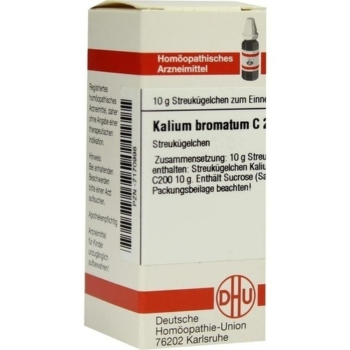 KALIUM BROMATUM C200, 10 G, Dhu-Arzneimittel GmbH & Co. KG
