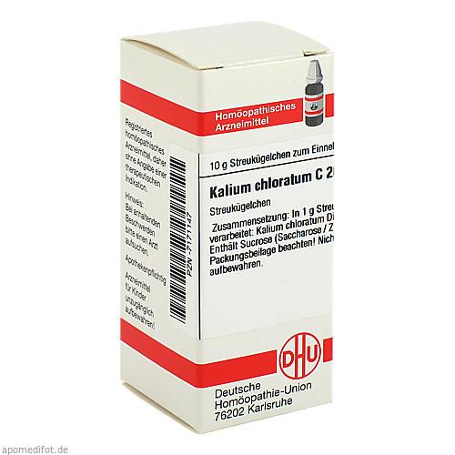 KALIUM CHLORATUM C200, 10 G, Dhu-Arzneimittel GmbH & Co. KG